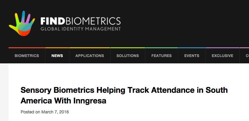 findbiometrics referencia a inngresa mobile