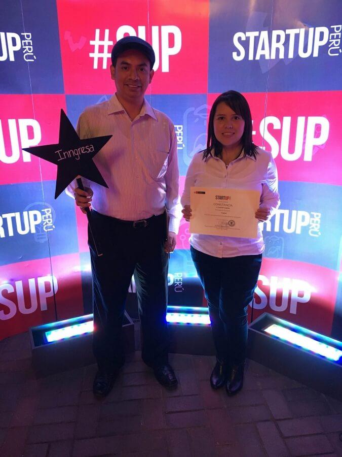 Inngresa beneficiaria de Startup Peru, sistema de control de asistencia online