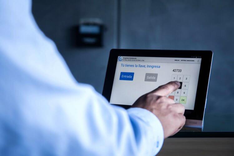 Inngresa aplicaciones biométricas